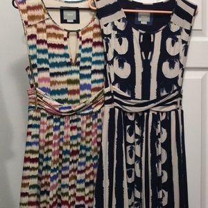 Maeve Sennebec dress/Anthropologie